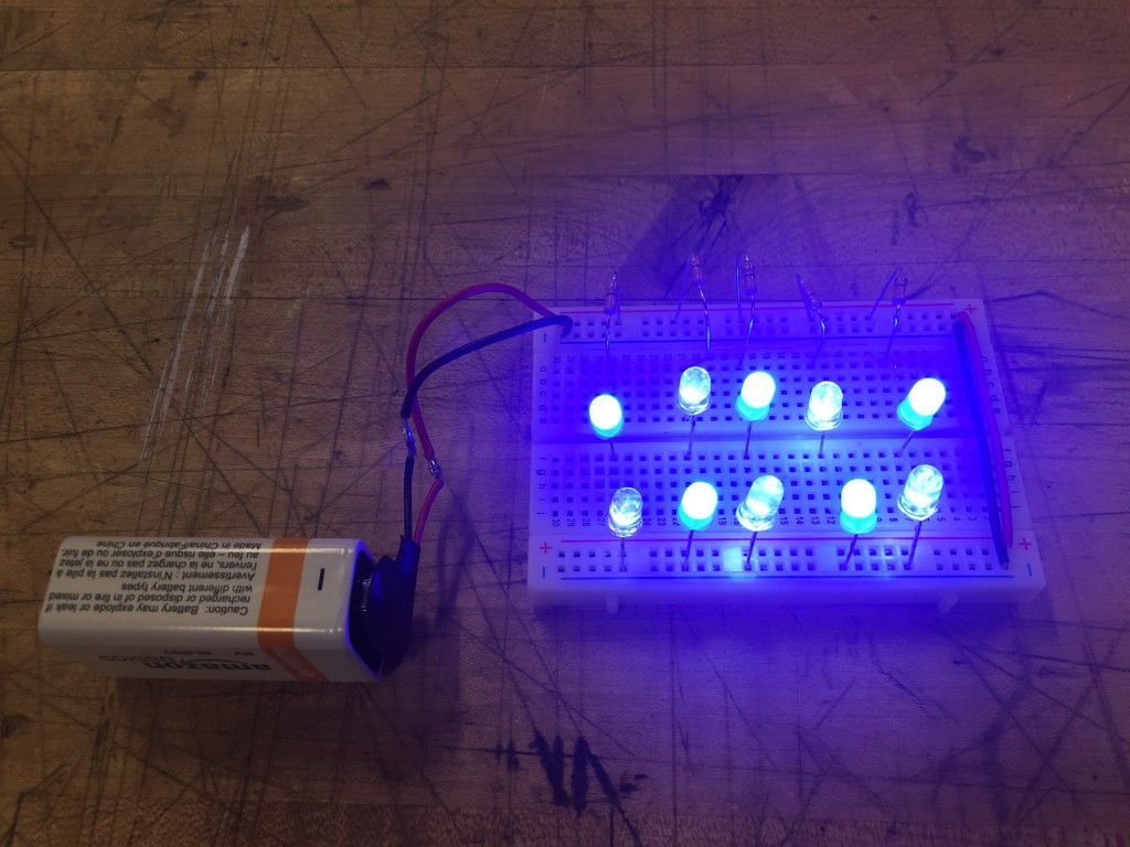 LED Breadboard Test